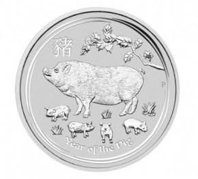 10 oz Silber Lunar II Perth Mint gute Qualität div Jahrgang ( diff.besteuert nach §25a UStG )