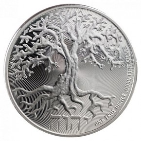 1 oz Silber Niue Tree of life 2018