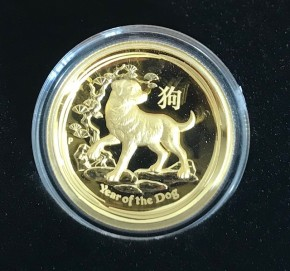 1 oz Gold Perth Mint Ultra High Relief