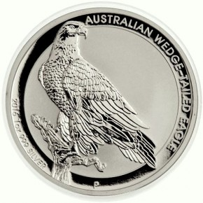 1 oz Silber Australien Wedge-Tailed Eagle 2016