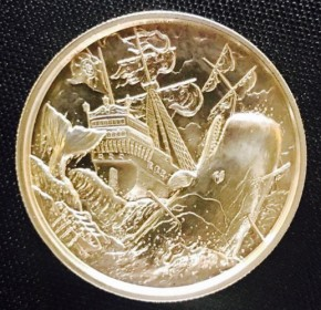 2 oz Silber Ultra High Relief