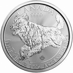 1 oz Silber Canada 2018 Predator