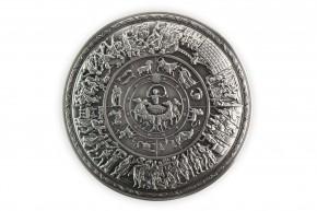 2 oz Silber Korea Stacker Achilles Shield Antique Finish inkl. Kapsel ( inkl. gesetzl. Mwst )