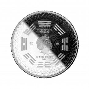 "1 oz Silber Tokelau "" Equilibrium 2020 "" Prooflike dritte Ausgabe ( diff.besteuert nach §25a UStG )"