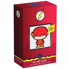 "1 oz Silber New Zealand Mint "" Chibi Coin - The Flash "" 2020  inkl Box ( diff.besteuert nach §25a UStG )"