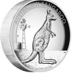 1 oz Silber High Relief Känguru 2012 ( diff.besteuert nach §25a UStG )