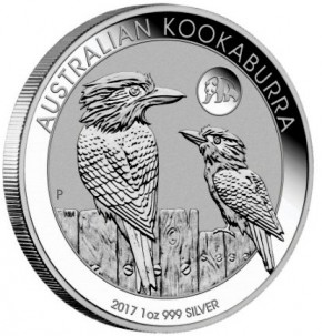 1 oz Silber Kookaburra 2017