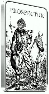 5 oz Silber Barren Prospector